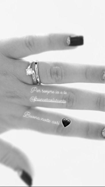 E ora mostraci una foto del tuo anello di fidanzamento! 24
