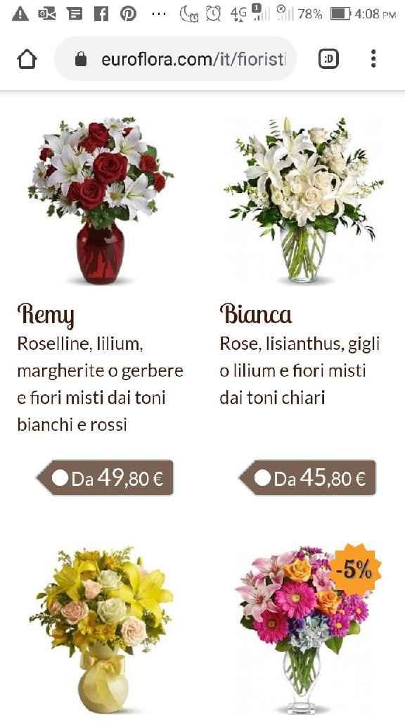 Prezzo fiori solo in chiesa - 1