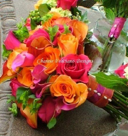 matrimonio fucsia e arancio - Foto Organizzazione matrimonio