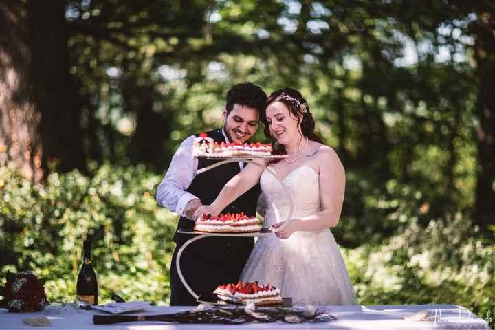 Torta nunziale diversa - 1