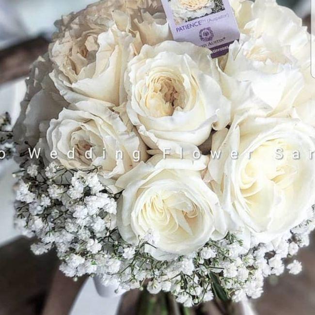Bouquet a cascata 3