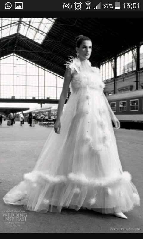 L'abito da sposa che non indossereste mai... - 1