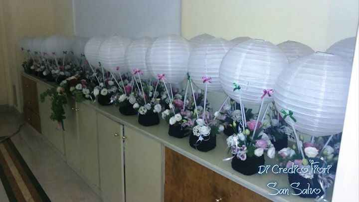 Centrotavola mongolfiera - 2