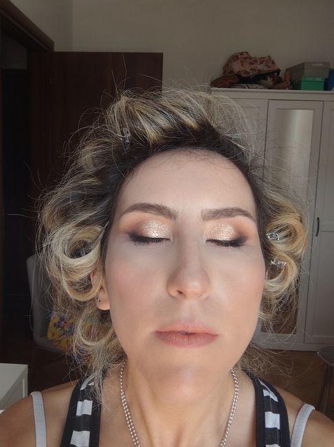 Prova trucco e capelli 😍 1
