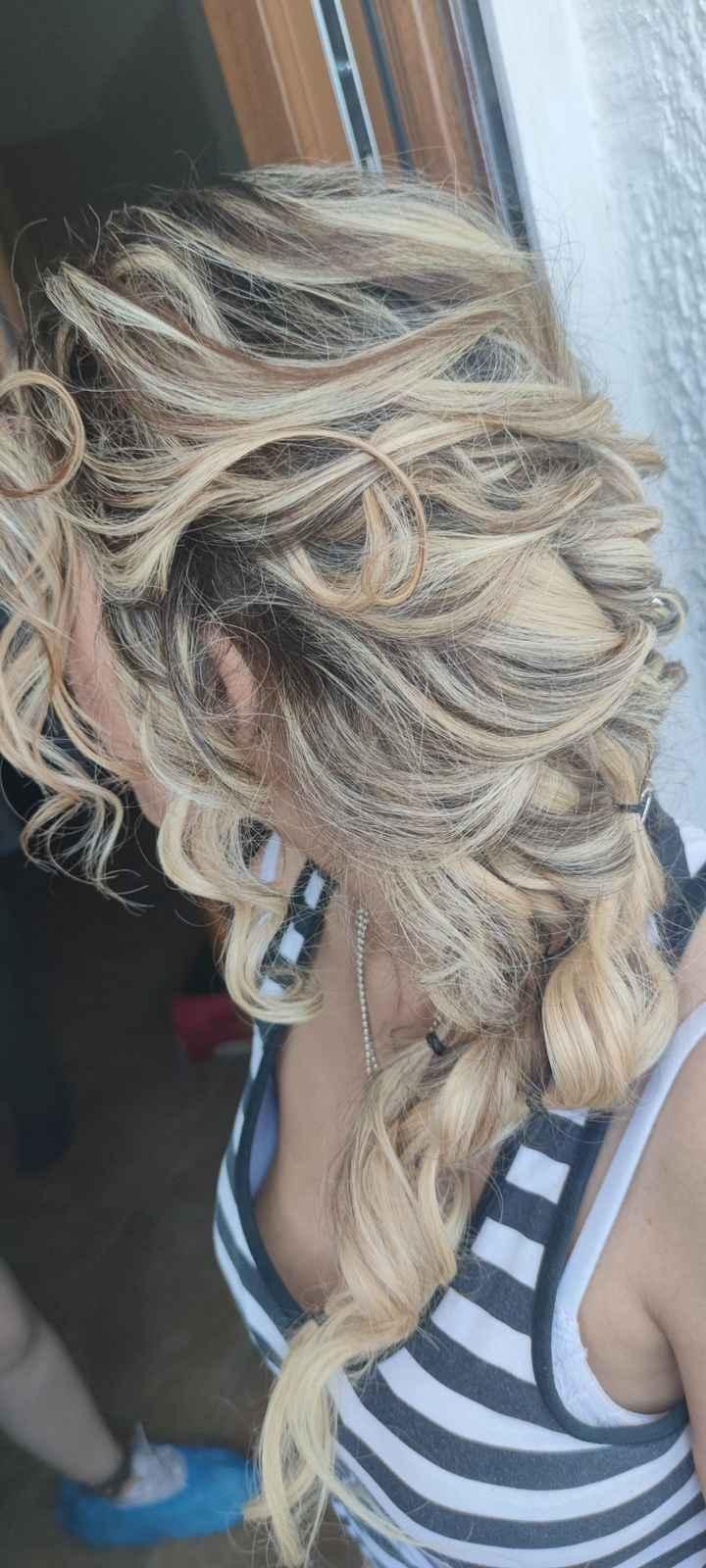 Prova trucco e capelli 😍 - 4