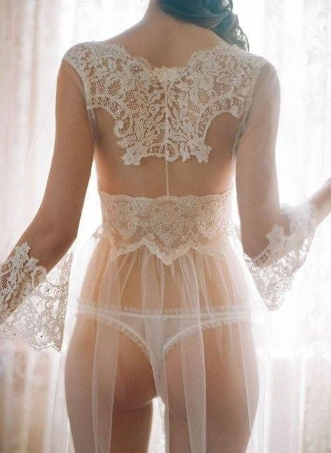 Ben noto Vi piacerebbe la vestaglia sexy per la prima notte  QO57