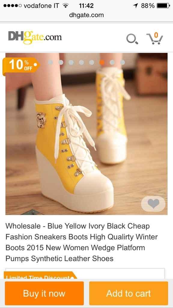 Scarpe gialle - 1