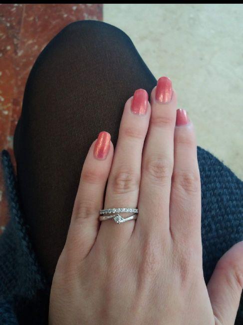 Anello di fidanzamento 7