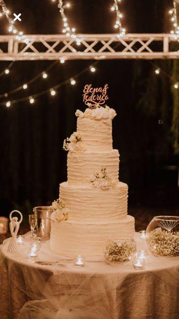 W di Wedding cake - 1