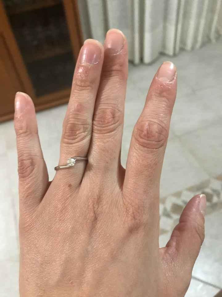 Inaspettatamente è arrivato l'anello ❤️💍👰🏻 - 1