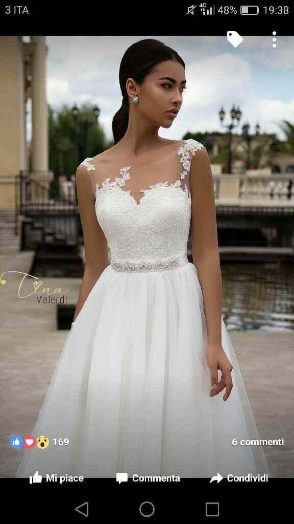 Lo stile dell'abito che vorrei per il mio matrimonio - 1