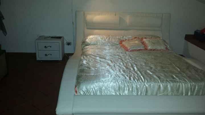 il mio nuovo letto