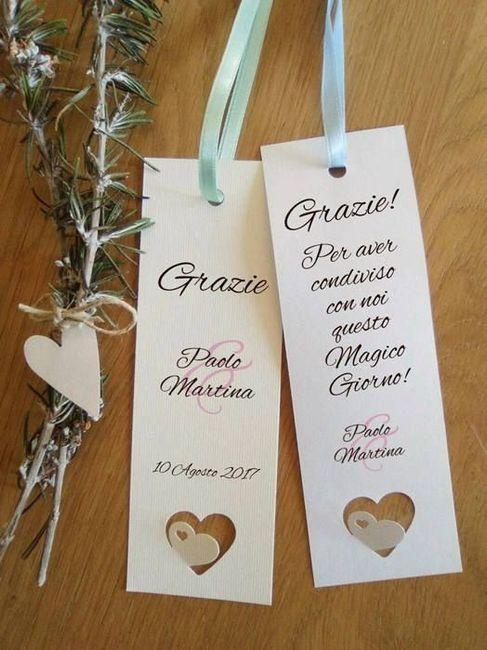 Idee segnaposto organizzazione matrimonio forum - Idee originali segnaposto matrimonio ...