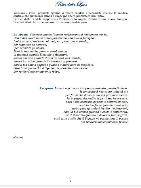 Matrimonio Simbolico Libretto : Libretti matrimonio civile rito della luce🔚⏳ cerimonia