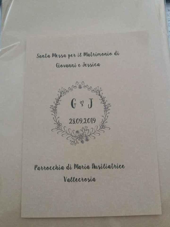 Copertina Libretto Messa - 1