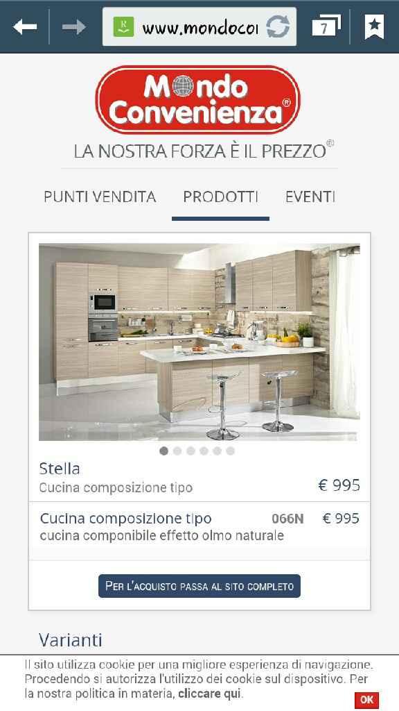 Prezzi cucina penisola mondo convenienza - 2