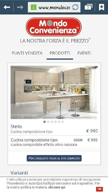 cucina con isola rossa. mondo convenienza cucine su misura con ...
