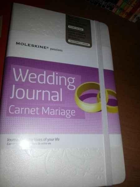 Wedding journal - 1