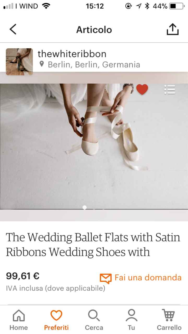 Chi si è sposata con scarpe/sandali bassi?? - 1