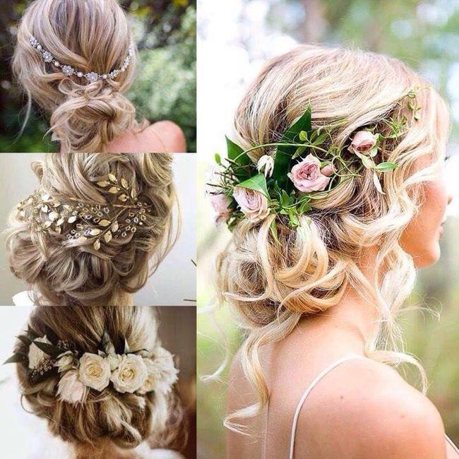 Esperienza fiori freschi capelli 1