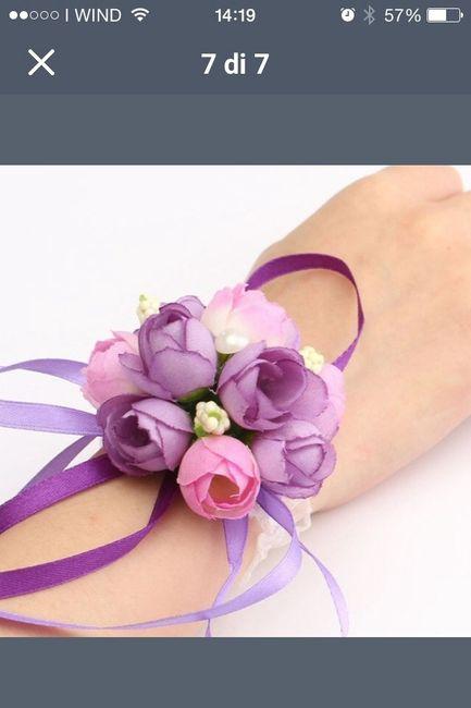 Estremamente Bracciali di fiori finti - Organizzazione matrimonio - Forum  AZ13