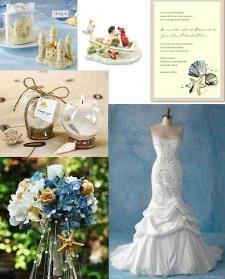 Wedding Favor Ideas Little Mermaid: Organizzazione Matrimonio