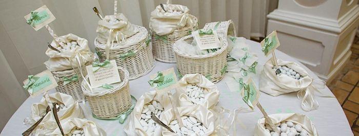 Confettata shabby chic organizzazione matrimonio - Confettata matrimonio a casa ...