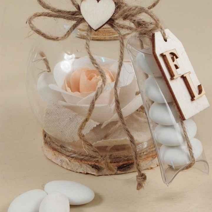Segnaposto rose di sapone - 4