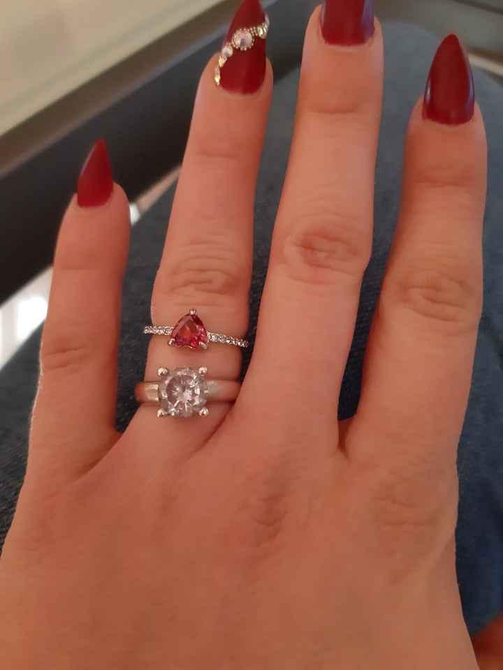 i miei anelli ! Mostratemi i vostri 💎💍❤ - 1