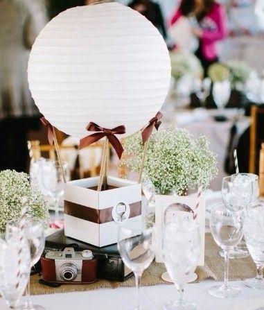 Matrimonio Tema Mongolfiera : Centrotavola fai da te forum matrimonio
