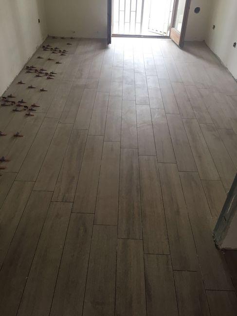 Contentissima il pavimento nuovo vivere insieme for Gres porcellanato 3 mm opinioni