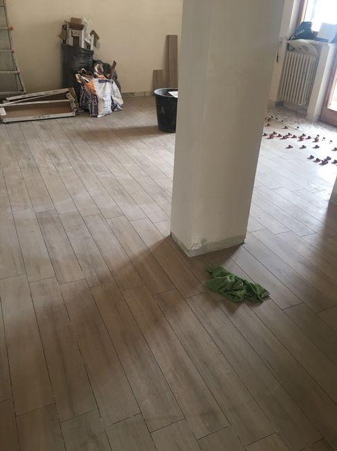 Gres effetto legno si pu posare senza fughe vivere for Pavimento senza fughe
