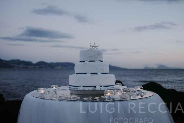 torta tema mare
