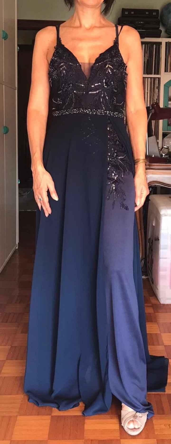 Vestito mamma della sposa 💙🤍 - 1