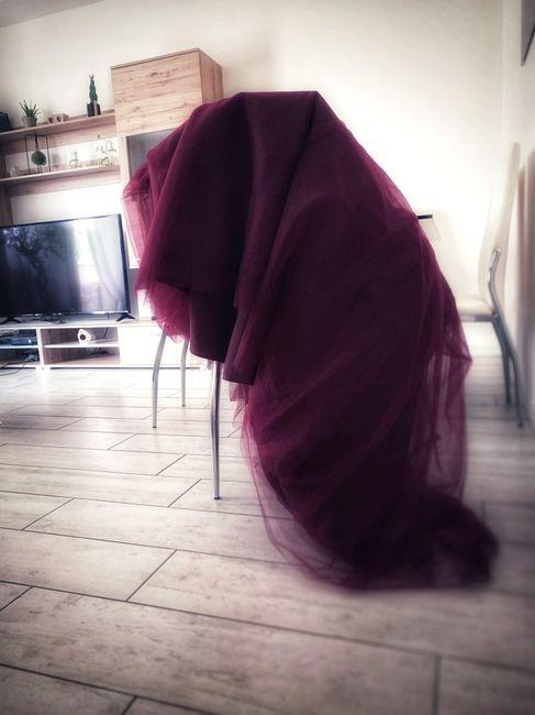 Trucco con rossetto borgogna - 2