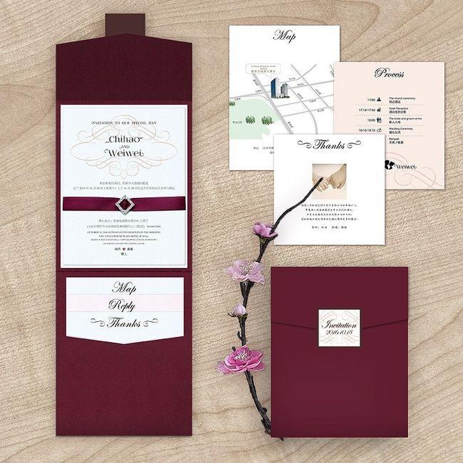 Matrimonio In Bordeaux : Help partecipazioni bianche e bordeaux molto chic fai da