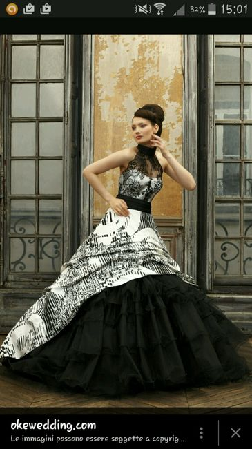 ffede9931eea Vestito da sposa nero - stile dark gothic - Pagina 2 - Moda nozze ...