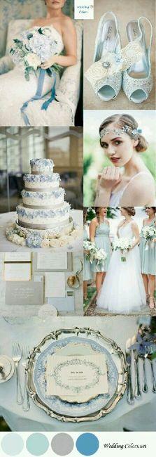 Matrimonio Color Azzurro Polvere : Azzurro polvere o blu organizzazione matrimonio