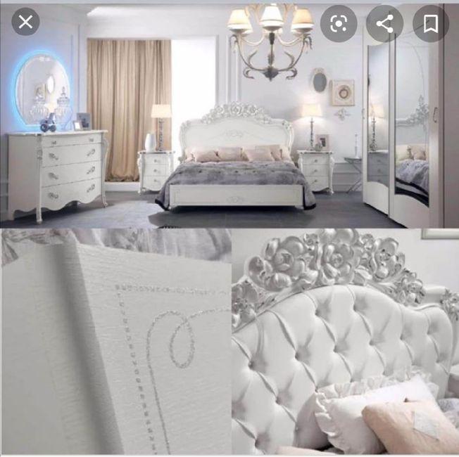 La mia camera da letto romantica - 1