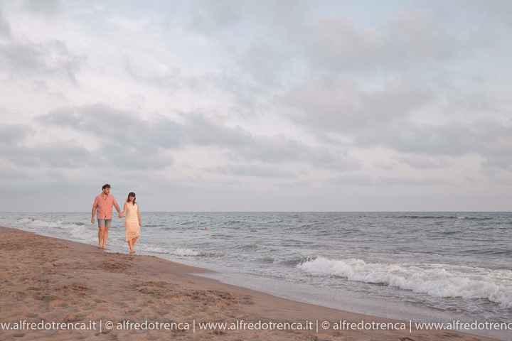 Pre wedding al mare