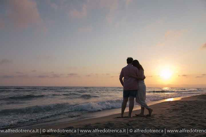 Noi con il tramonto