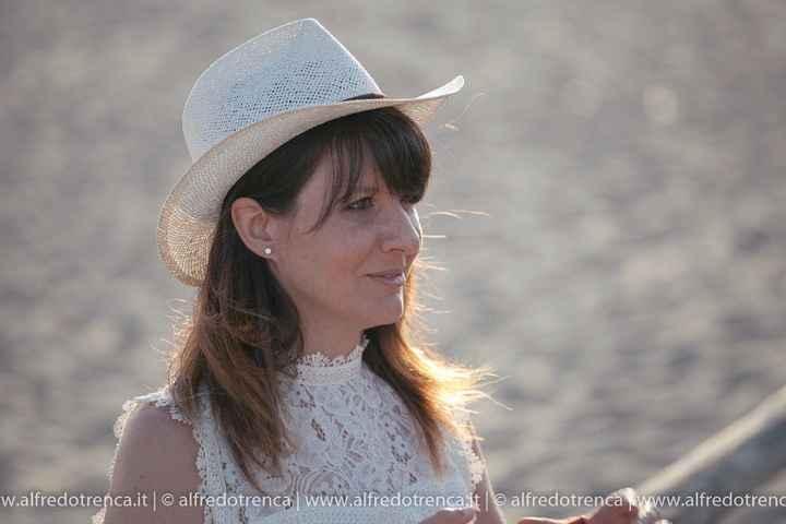 Io con il cappello del mio amore
