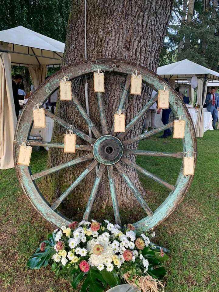 Tableau de mariage cerchio - 1