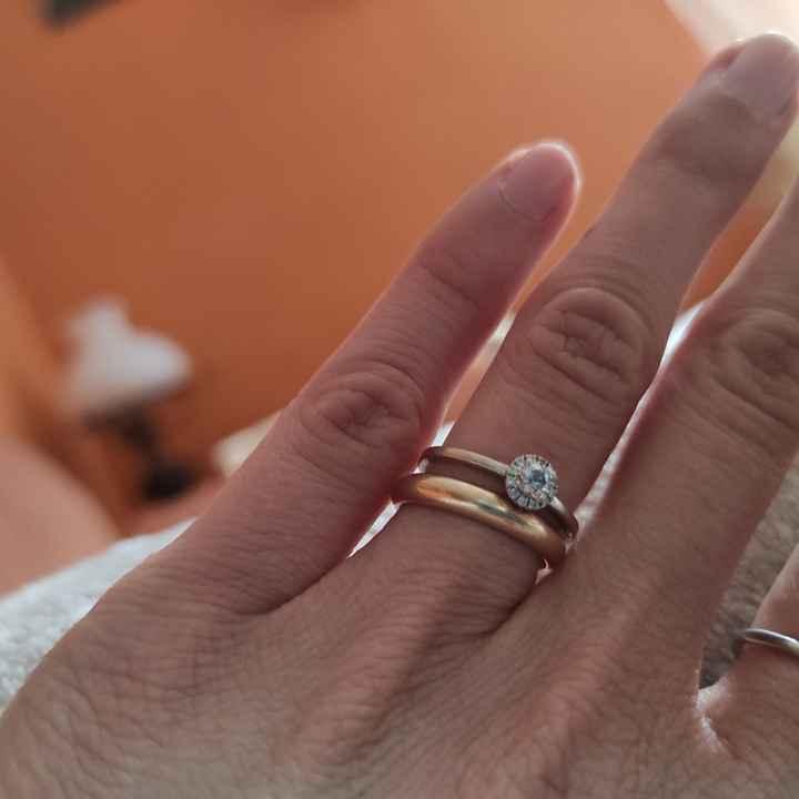 Anello di fidanzamento e fede - 1