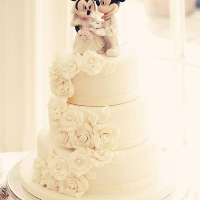 Torta nozze con fiori 1