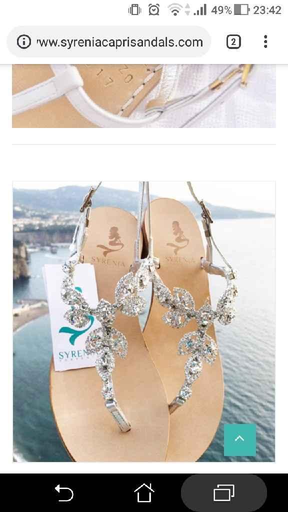 Scarpe sposa basse - 1