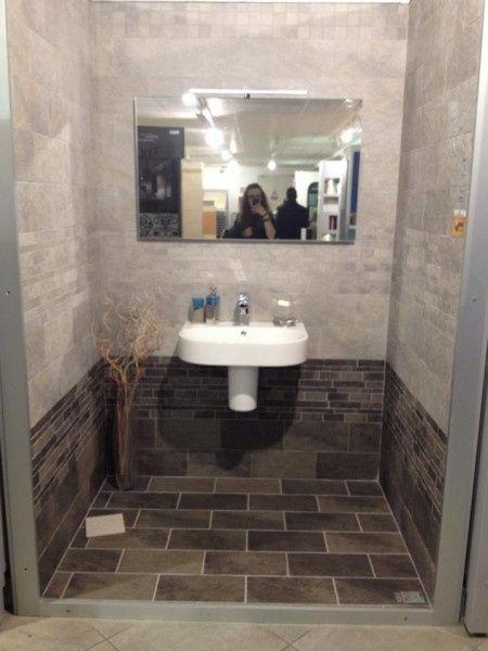 I vostri bagni p gina 3 vivere insieme forum - Rivestimento bagno grigio ...
