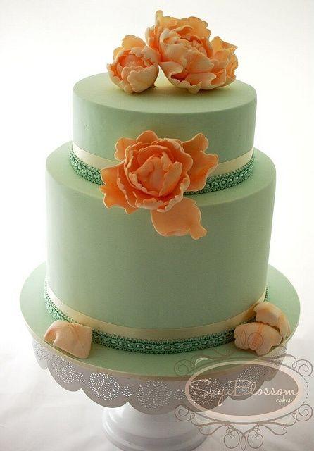 Matrimonio pesca e verde menta... - 10
