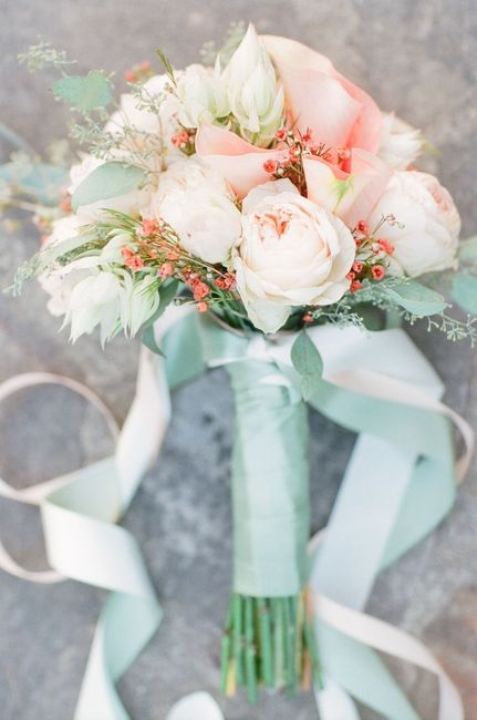 Matrimonio pesca e verde menta... - 16