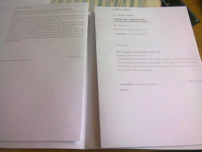 Top Come rilegare il libretto messa?? - Cerimonia nuziale - Forum  AK84